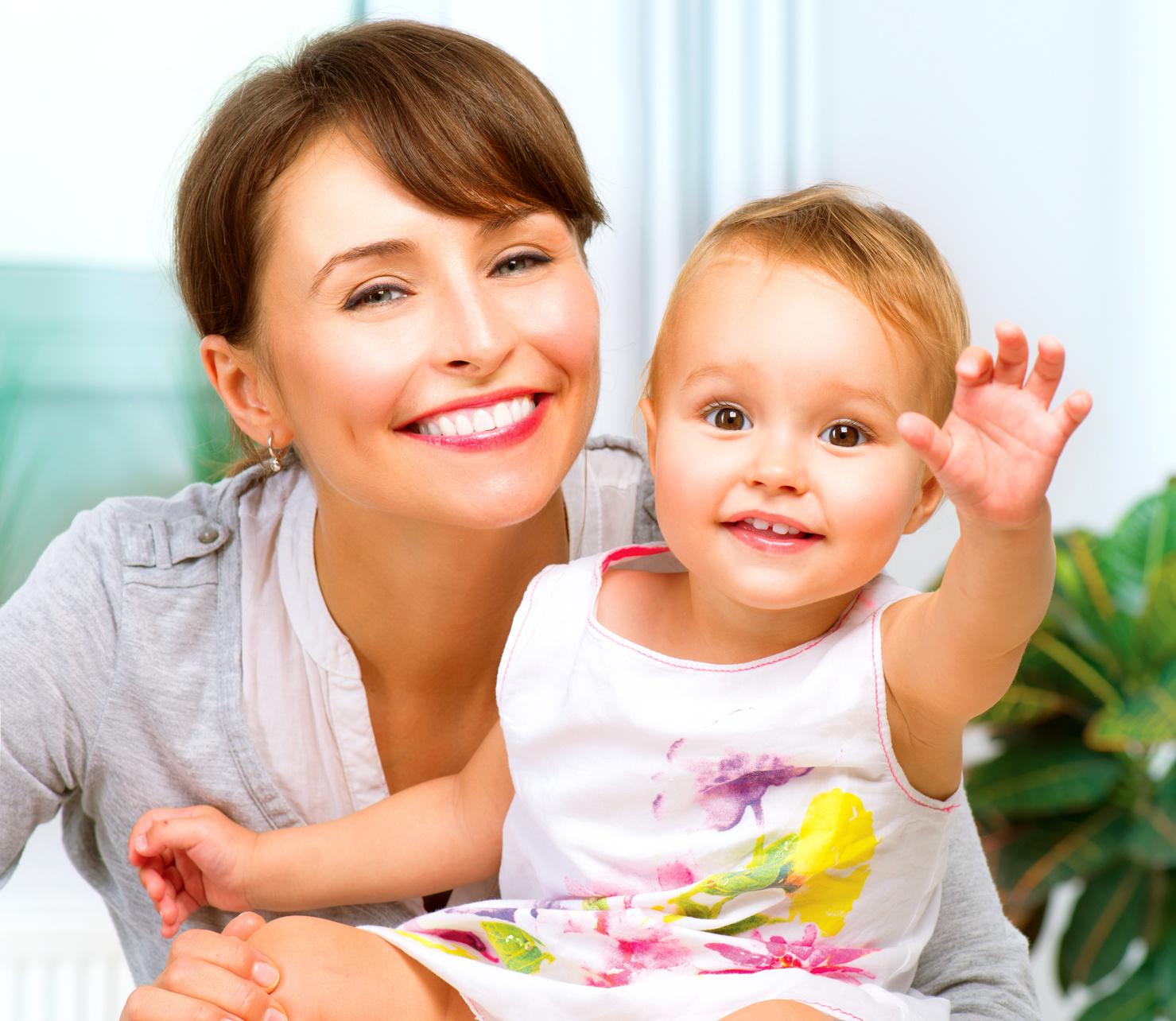 Фото матери с ребенком дома