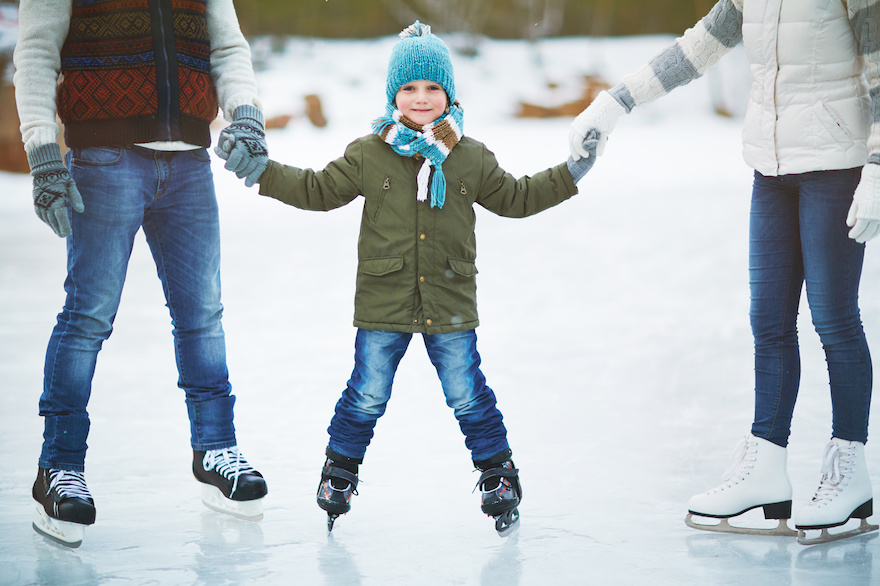 ferie zimowe łyżwy