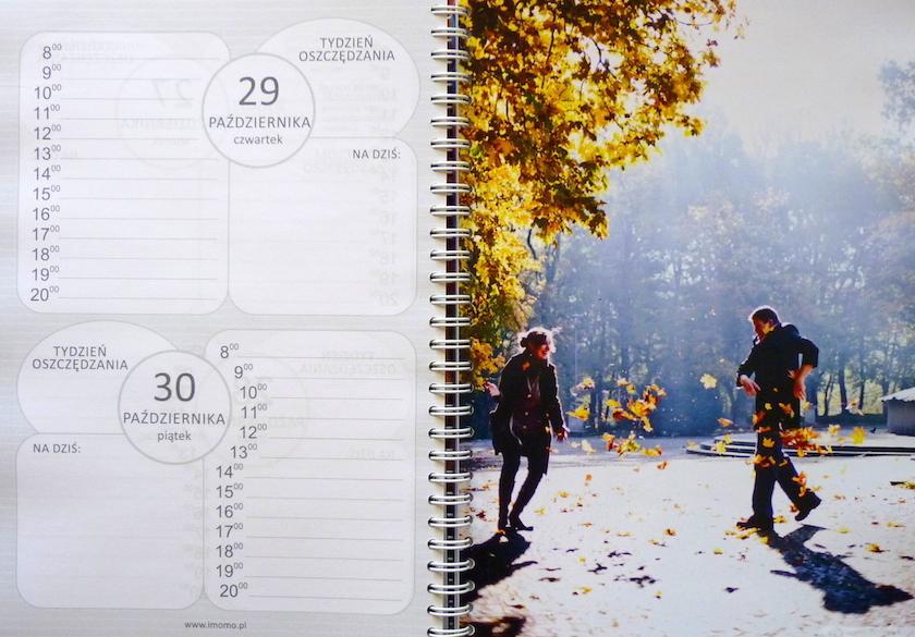 spersonalizowany kalendarz dla rodziców