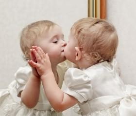 fotografia dziecięca lustra