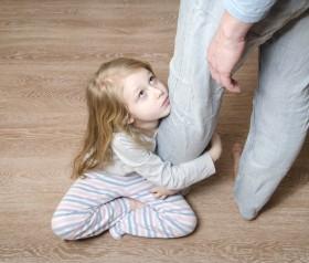 gniewać na dziecko