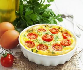 przepis na omlet z pomidorami