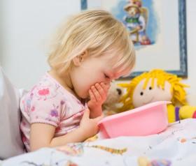wymioty u dzieci i niemowląt