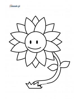 Wesoły kwiatek