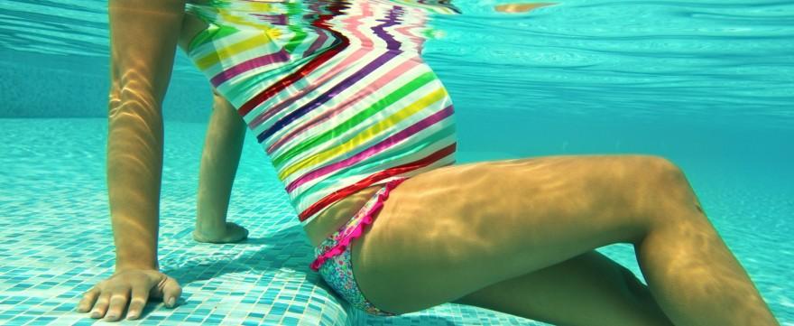aerobik w wodzie ułatwia porody