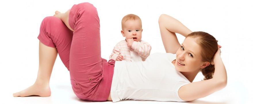 bądź fit po urodzeniu dziecka