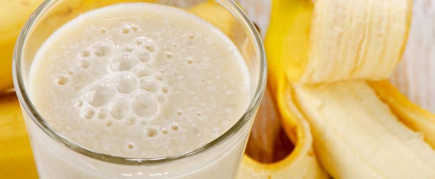 przepis na bananowy koktajl