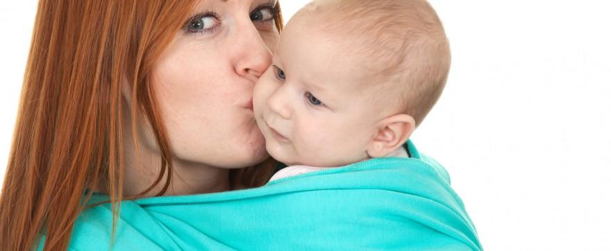 błędy w noszeniu niemowlaka w chuście