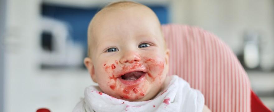 co jedzą niemowlęta