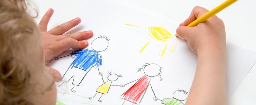 co oznaczają dziecięce rysunki