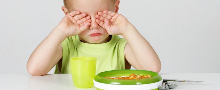 dlaczego dziecko nie chce jeść