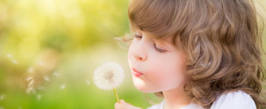 fotografowanie dzieci wiosną