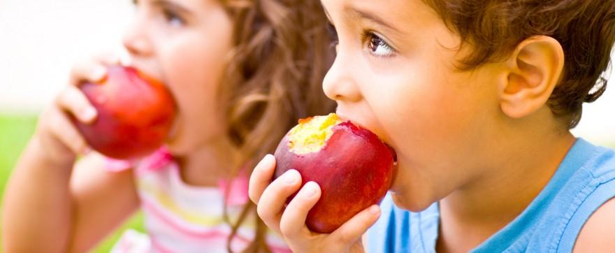 jabłko dla niemowlaka