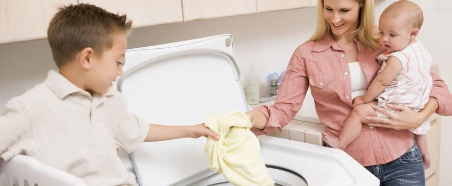 jak prać ubranka dla dzieci