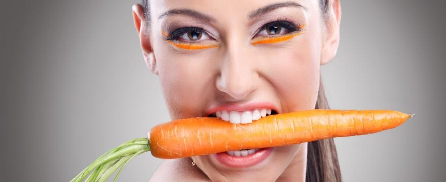 jedz marchewkę będziesz piękna