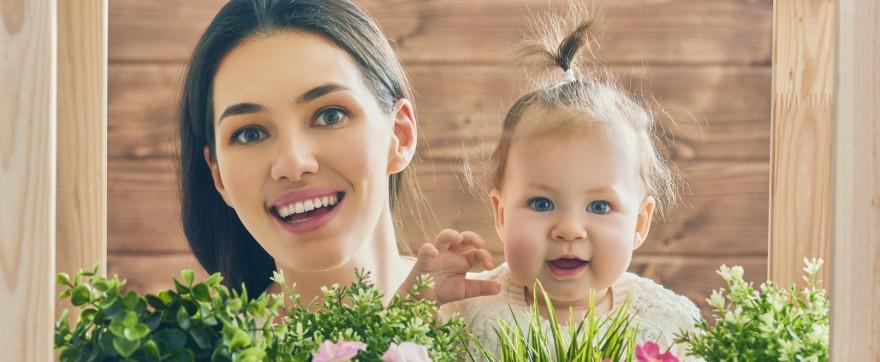 język migowy znaki niemowlę