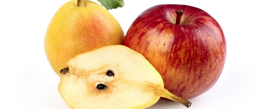 jogurt z jabłkiem i gruszką