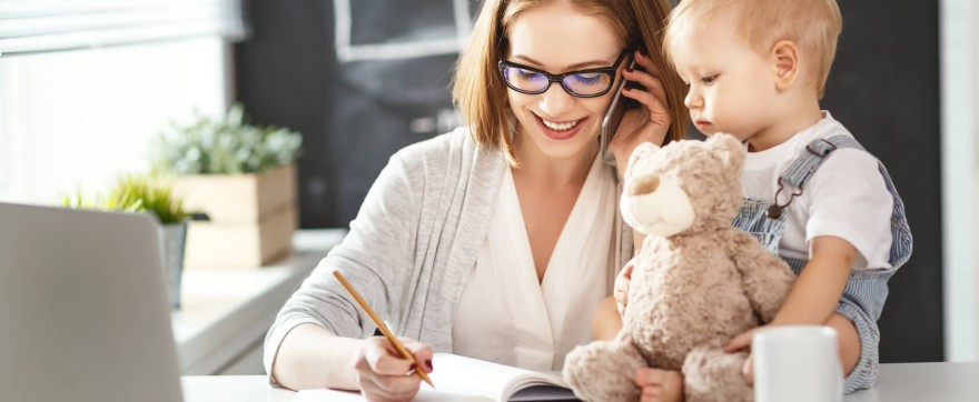 praca a wychowanie dziecka