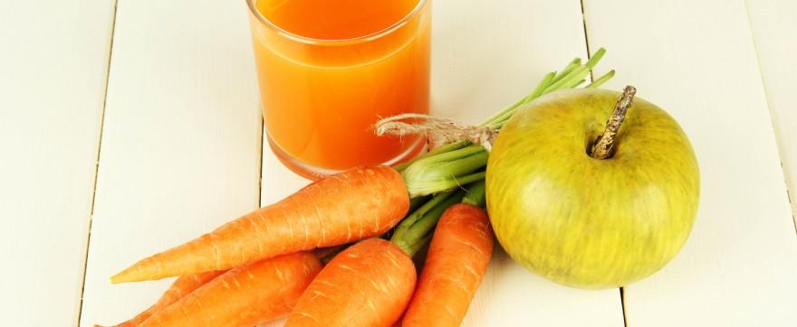 przepis na sok marchwiowo jabłkowy