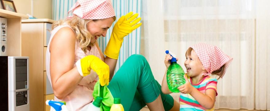 sprzątając można nabawić się astmy