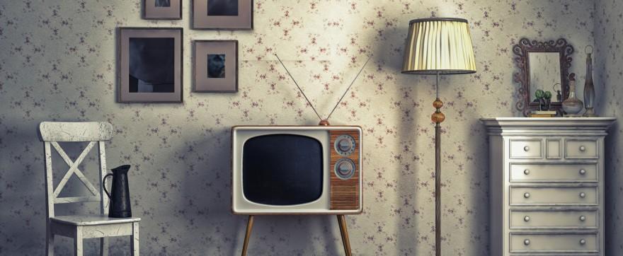 stary telewizor
