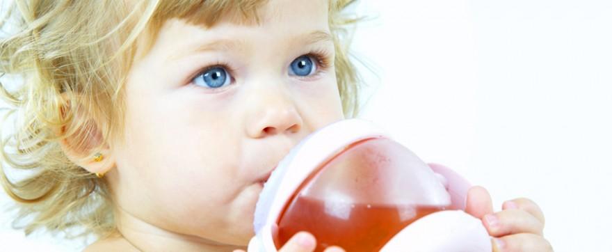 zdrowy sok dla małego dziecka