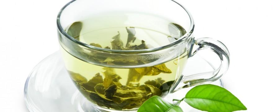 zielona herbata na bezdech