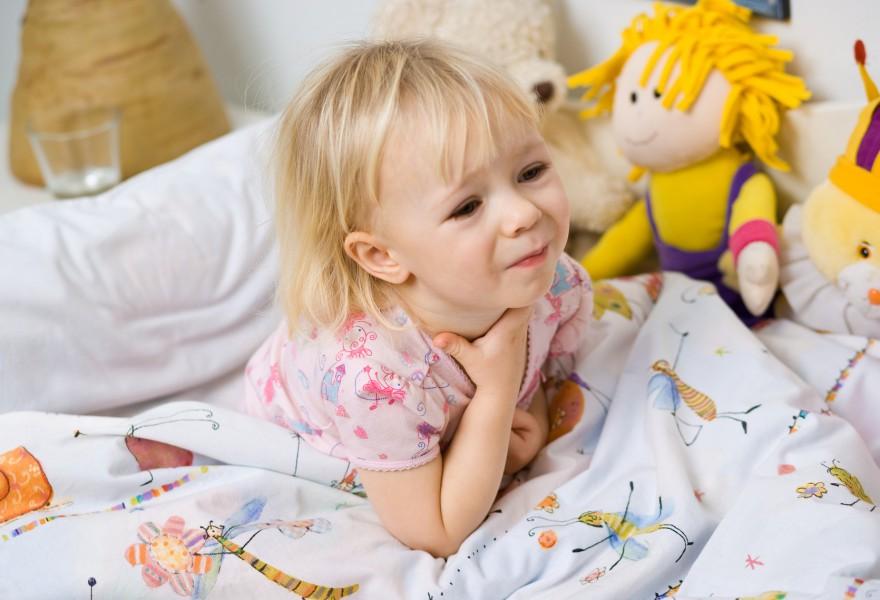 angina u dzieci