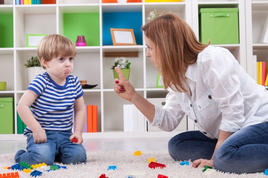jak mówić nie dziecku