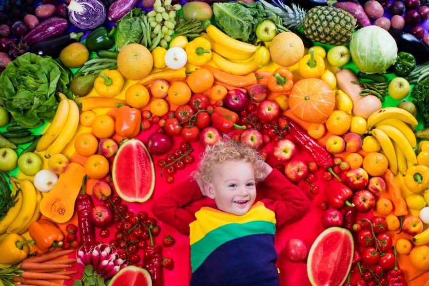 warzywa i owoce dla dziecka