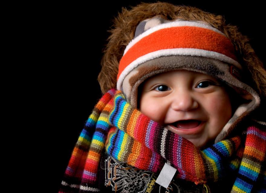 jak ubrać dziecko zimą