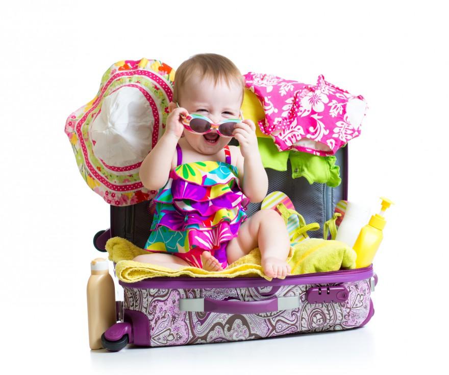 niemowlę wakacje z dzieckiem porady