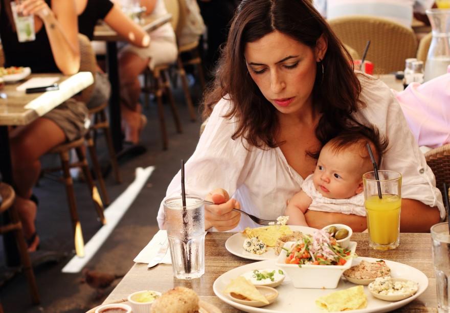 restauracja z dzieckiem