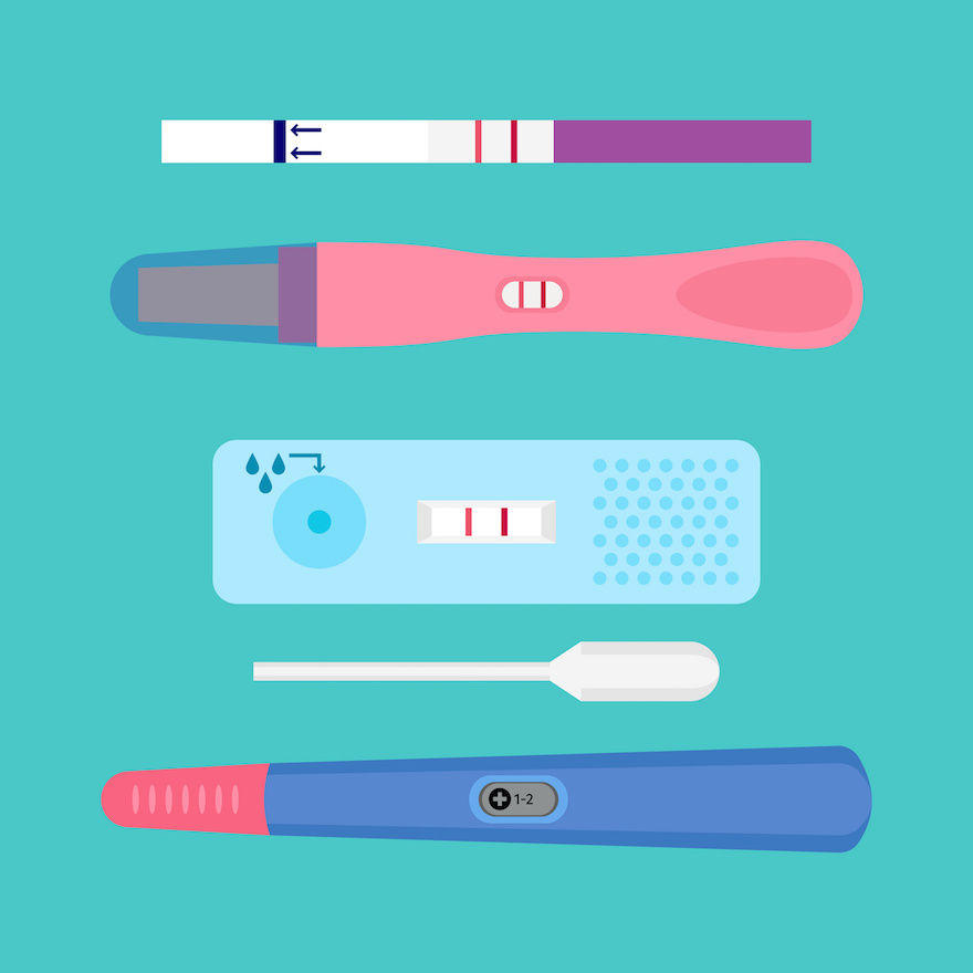 test ciążowy rodzaje